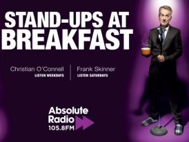 Absolute Radio Promotes Breakfast Comedy
