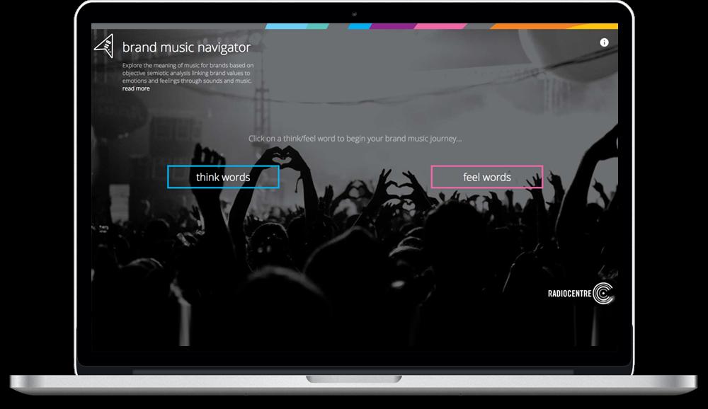 Brand music navigator