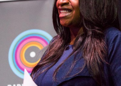Angie Greaves, Chair, Radiocentre, Tuning In: See Radio Differently, 17May2016, Photographer BronacMcNeill