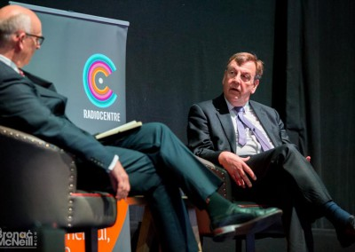 Kip Meek & Rt Hon John Whittingdale MP, Radiocentre, Tuning In: See Radio Differently, 17May2016, Photographer BronacMcNeill