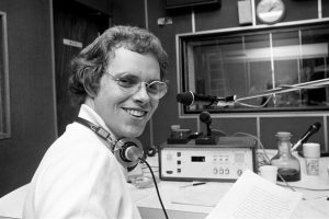David Jessell was the first voice on commercial radio on LBC in 1973.