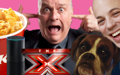Voice of the X Factor Peter Dickson and Adam&EveDDB's Ben Tollett on Radiocentre's new podcast