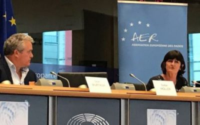 Summary of Radiocentre CEO speech to European Parliament