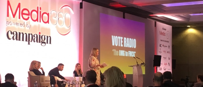Radio crowned King of all media at Media360