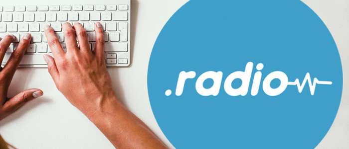 Apply for your .radio web domain now