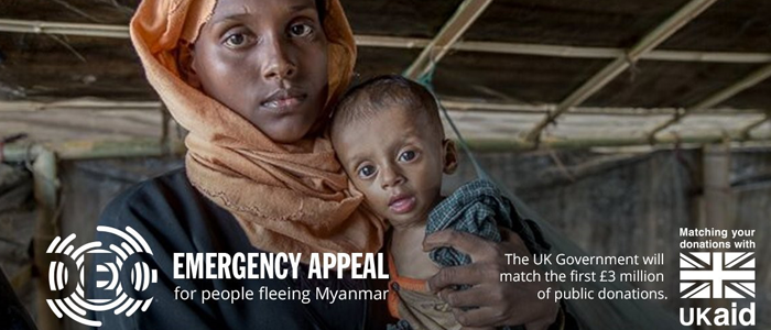 Commercial radio supports DEC appeal for Rohingya Crisis